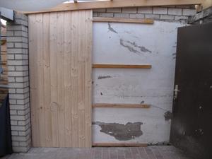 Wandverkleidung Terrasse
