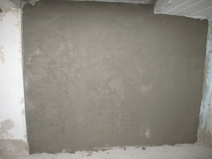 Wand Kellerabgang