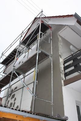 Dämmung Fassade