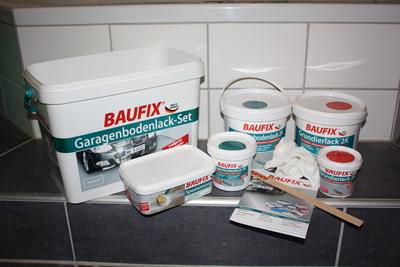 Baufix Garagenbodenlack-Set