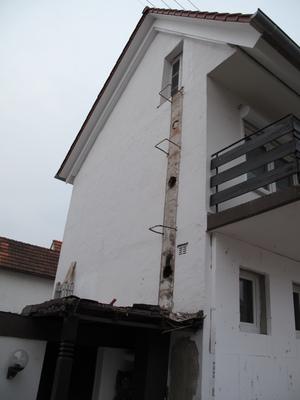 Fassade vorher