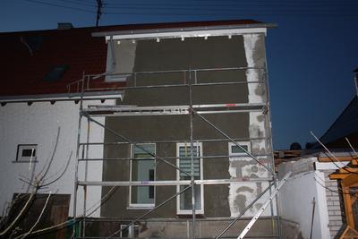 Armierung Fassade