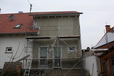 Grundierung Fassade
