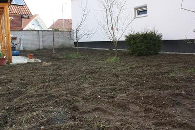 Fläche nach dem Fräsen