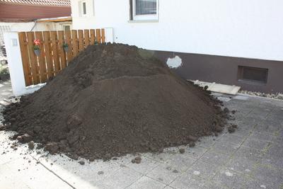 10 Tonnen Mutterboden