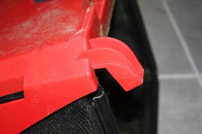 Aufhängung Fangkorb: Dauerhaft stabil?