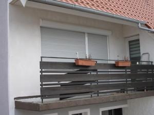 Putz Balkonbereich