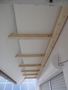 Dämmung: Holzkonstruktion